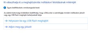 helyezzen be egy USB flash meghajtot